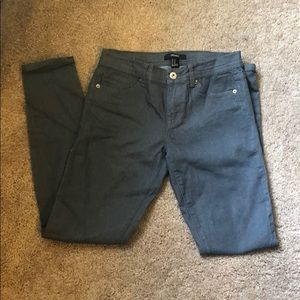 Charcoal grey jeans